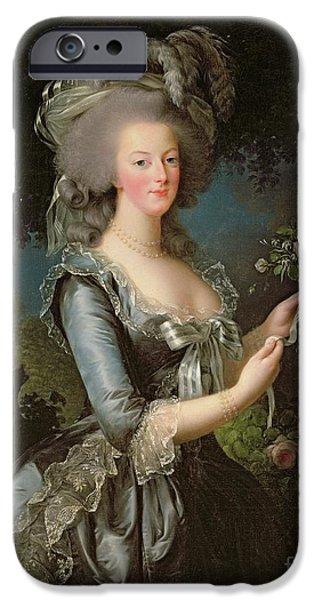 Marie Antoinette IPhone Case by Elisabeth Louise Vigee Lebrun