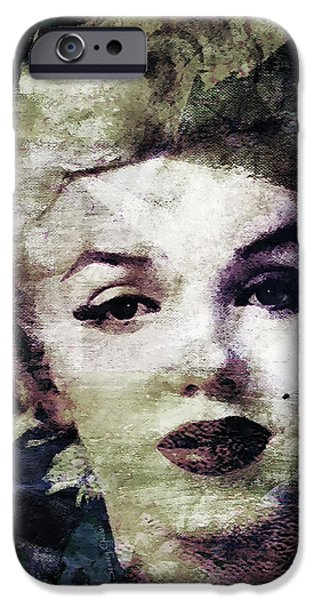 Marilyn Monroe  IPhone Case by Stacey Chiew