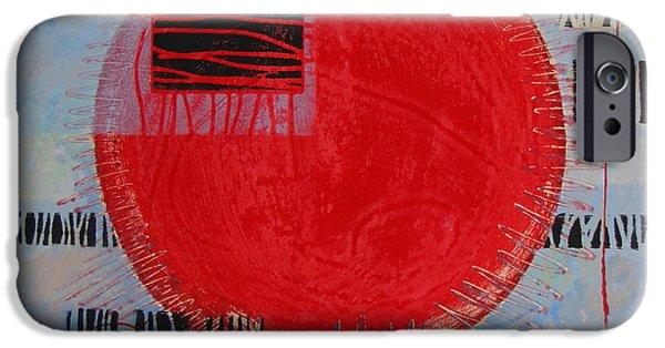 Mars I IPhone Case by Pamela Iris Harden