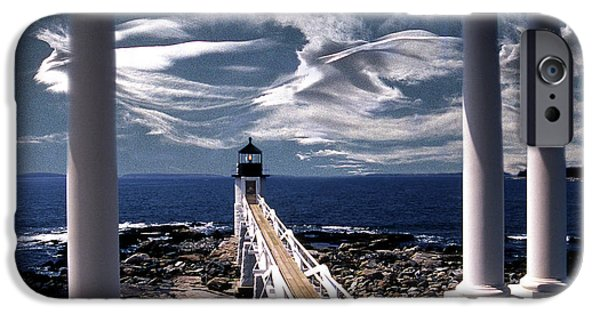 Marshall Point Lighthouse Maine IPhone Case by Skip Willits