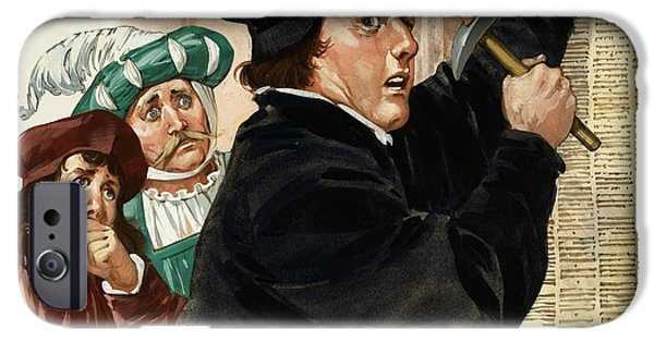 Martin Luther IPhone Case by Angus McBride
