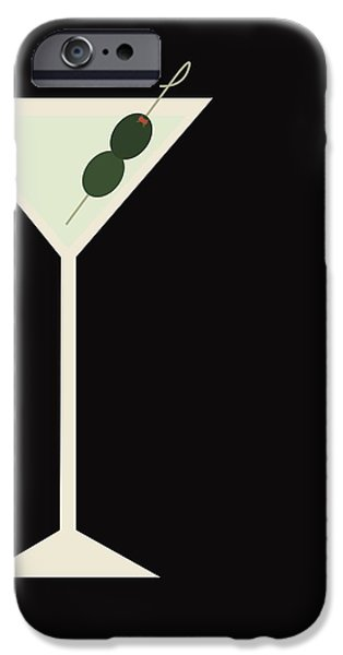 Martini IPhone 6s Case by Julia Garcia