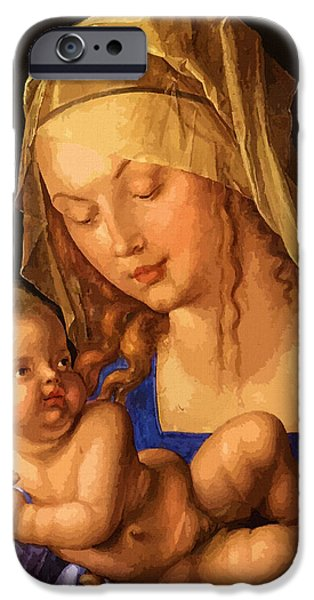 Mary Saint IPhone Case by Christian Art