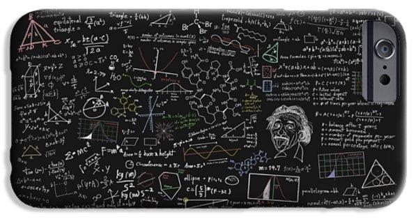 Maths Formula IPhone Case by Setsiri Silapasuwanchai