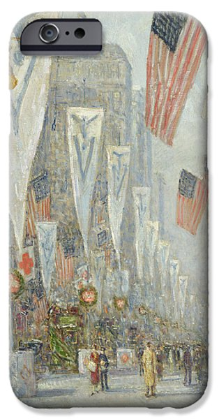 May 1919, 930 Am IPhone Case by Childe Hassam