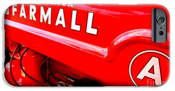 Mccormick Farmall A IPhone Case by Olivier Le Queinec