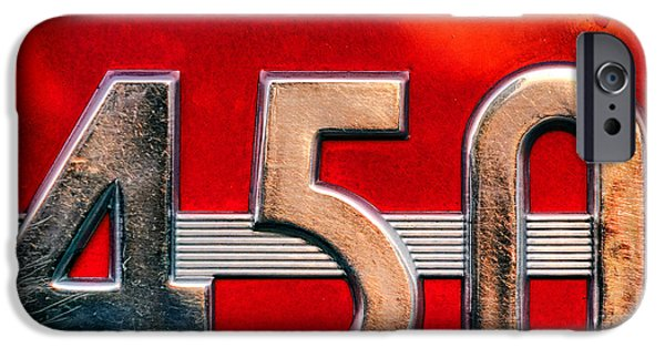 Mc Cormick Farmall Diesel 450 IPhone Case by Olivier Le Queinec