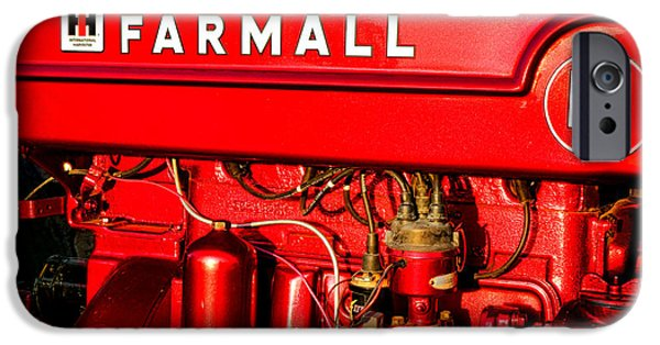 Mc Cormick Farmall M IPhone Case by Olivier Le Queinec