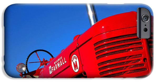 Mccormick Farmall Super M IPhone Case by Olivier Le Queinec