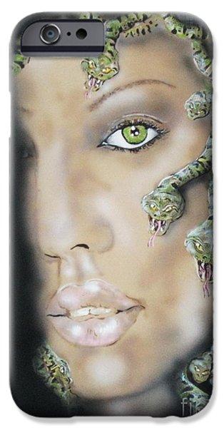 Medusa IPhone 6s Case by John Sodja