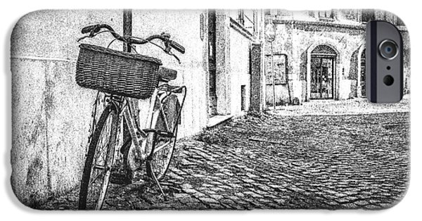 Memories Of Italy Sketch IPhone Case by Edward Fielding