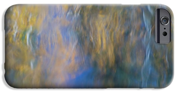 Merced River Reflections 15 IPhone Case by Larry Marshall