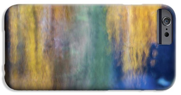 Merced River Reflections 17 IPhone Case by Larry Marshall