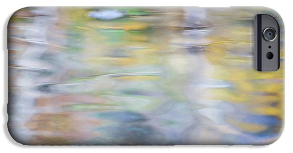 Merced River Reflections 6 IPhone Case by Larry Marshall