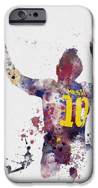 Messi IPhone 6s Case by Rebecca Jenkins