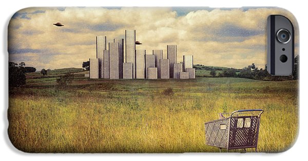 Metropolis IPhone 6s Case by Tom Mc Nemar