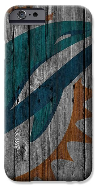 Miami Dolphins Wood Fence IPhone 6s Case by Joe Hamilton