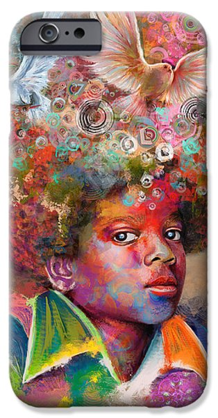 Michael Jackson IPhone Case by Andreas Spengler
