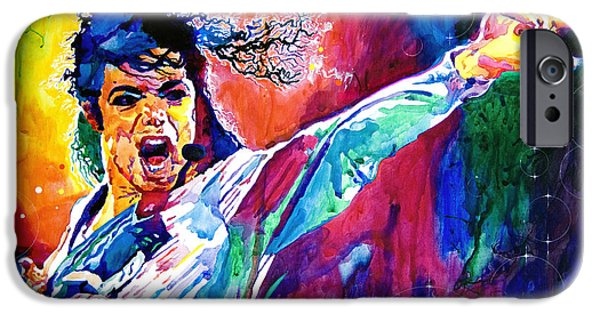 Michael Jackson Force IPhone 6s Case by David Lloyd Glover