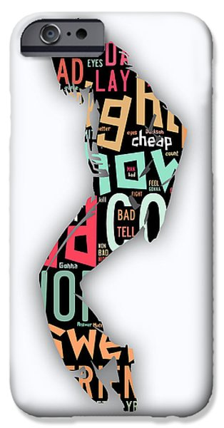 Michael Jackson I'm Bad IPhone 6s Case by Marvin Blaine