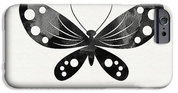 Midnight Butterfly 3- Art By Linda Woods IPhone 6s Case by Linda Woods