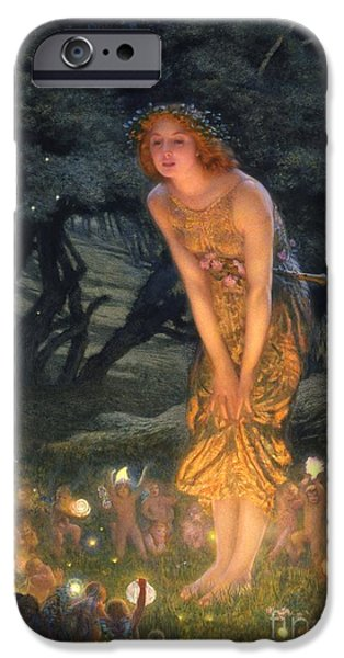 Midsummer Eve IPhone 6s Case by Edward Robert Hughes