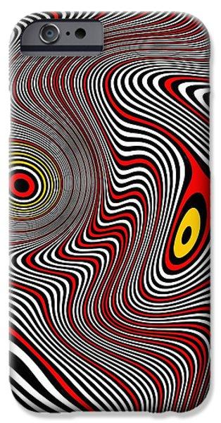 Migraine Aura IPhone Case by Pet Serrano
