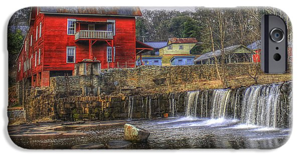 Millmore Or Baxter Mill Gristmill IPhone Case by Reid Callaway