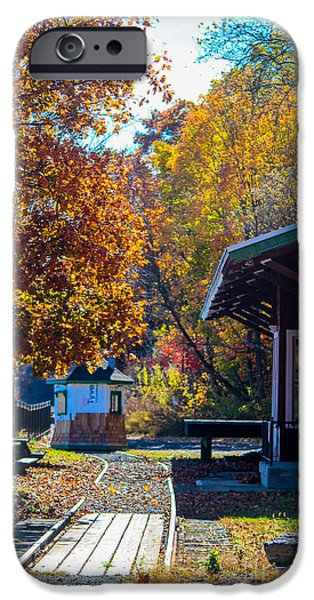Milton Train Station IPhone Case by Victory  Designs