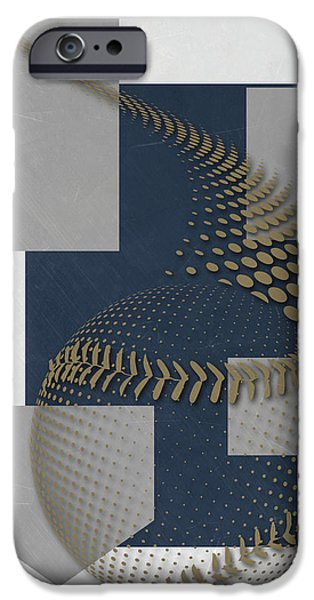 Milwaukee Brewers Art IPhone Case by Joe Hamilton