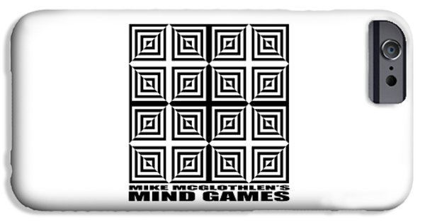 Mind Games 28se IPhone Case by Mike McGlothlen