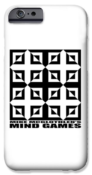 Mind Games 37se IPhone Case by Mike McGlothlen