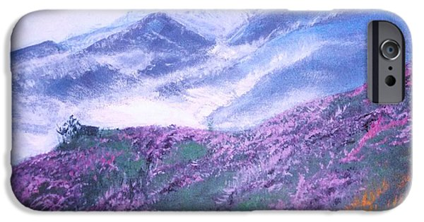 Misty Mountain Hop IPhone Case by Donna Dixon
