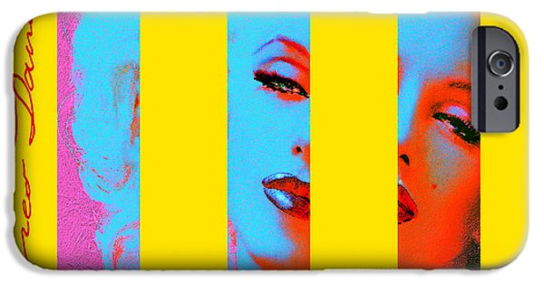 Mmarilyn 130 Sis IPhone Case by Theo Danella