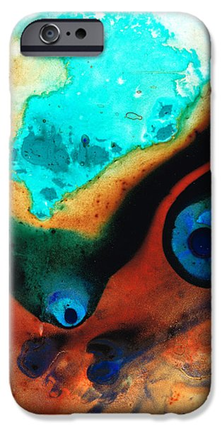 Molten Earth IPhone Case by Sharon Cummings