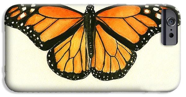 Monarch Butterfly IPhone 6s Case by Juan Bosco