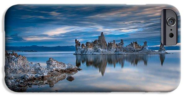 Mono Lake Tufas IPhone Case by Ralph Vazquez