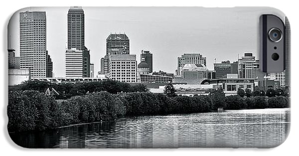 Monochrome Panorama IPhone Case by Frozen in Time Fine Art Photography