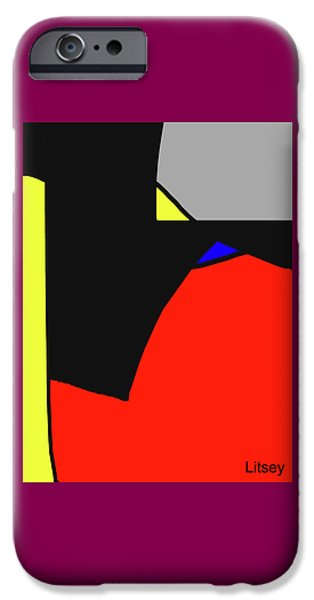 Monte Carlo Beaches IPhone Case by International Artist Brent Litsey