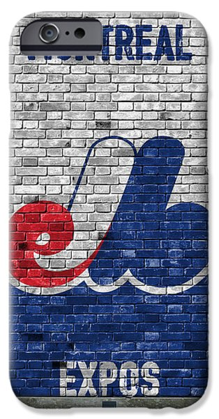 Montreal Expos Brick Wall IPhone Case by Joe Hamilton