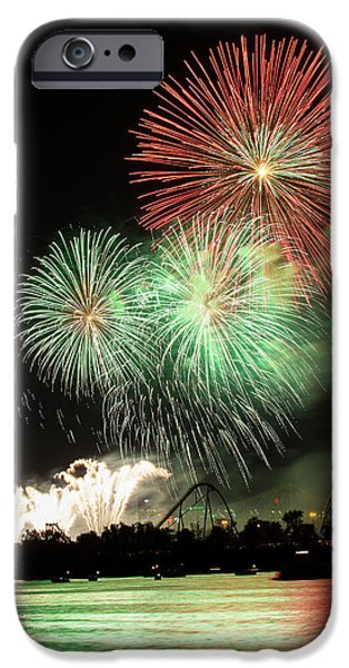 Montreal-fireworks IPhone 6s Case by Mircea Costina Photography