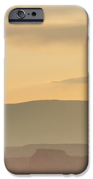 Monument Valley Layers IPhone Case by Az Jackson