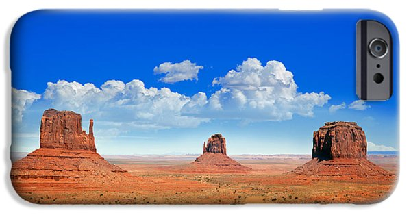 Monument Vally Buttes IPhone Case by Jane Rix