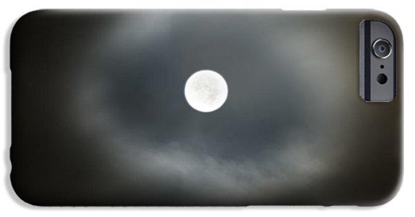 Moon Glow IPhone Case by Leland D Howard