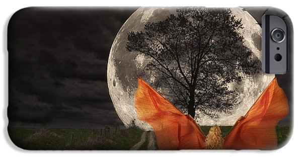 Moon Goddess IPhone Case by Tom Mc Nemar
