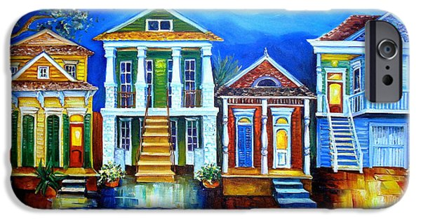 Moon Over New Orleans IPhone Case by Diane Millsap