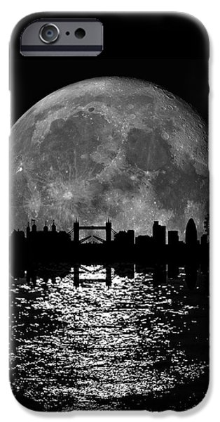 Moonlight London Skyline IPhone 6s Case by Mark Rogan
