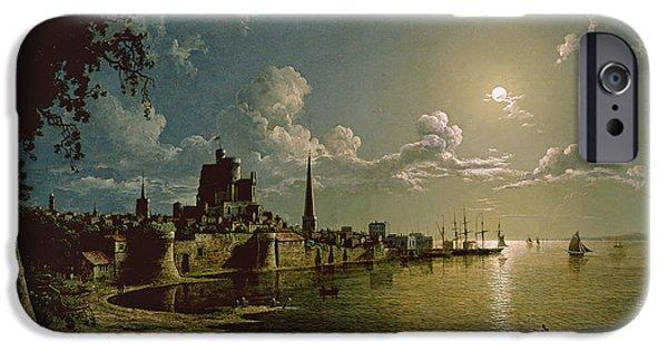 Moonlight Scene IPhone Case by Sebastian Pether