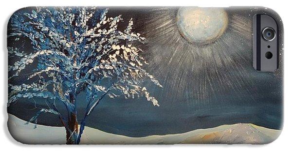 Moonlit Night IPhone Case by Kat McClure