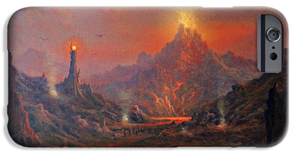 Mordor Land Of Shadow IPhone 6s Case by Joe Gilronan